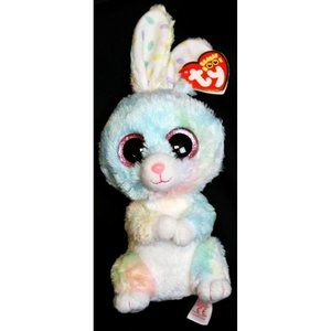 TY Beanie boos Bubby Bunny Rabbit Pastels Pink Spa